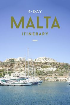 4-Day Malta Itinerary | What to do in Malta | Europe | What to see in Malta