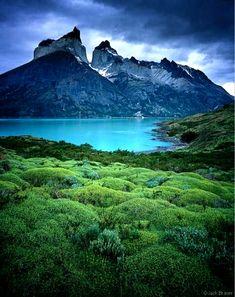 Los Cuernos Torres Del Painer, Chile.