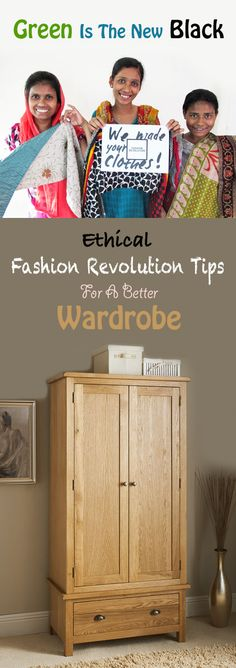 Green Is The New Black | Ethical Fashion Revolution Tips For A Better Wardrobe