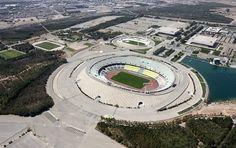 Azardi Stadium (Iran) Iran Football, Football Stadiums, Futuristic, Around The Worlds, Beautiful