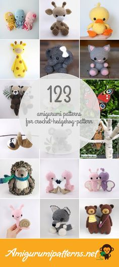 Amigurumi Patterns For Crochet-hedgehog-pattern
