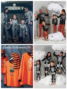 888acb55fc Matching Family Halloween Pajamas Halloween Pajamas