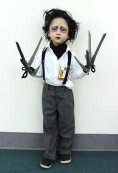 Disfraces de Halloween para niños: Eduardo Manostijeras