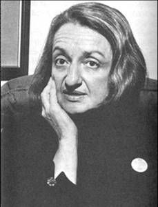 Betty Friedan. You've come a long way, baby, and you owe a lot of it to her.