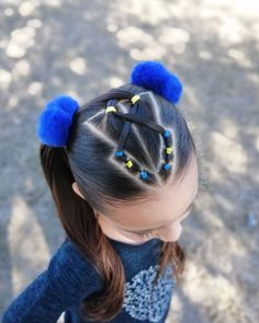 Best Picture For toddler hairstyles girl braids For Your Taste You are looking for something, and it Easy Toddler Hairstyles, Work Hairstyles, Flower Girl Hairstyles, Little Girl Hairstyles, Ladies Hairstyles, Curly Hair Styles, Natural Hair Styles, Girl Hair Dos, Let Your Hair Down