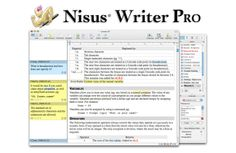 Nisus Writer Pro is another really powerful word processor with more features than you'll know what to do with: styles, multilingual support, tables, comments, track changes, drawing tools, footnotes & endnotes, bookmarks, cross-references, table of contents, full screen mode, and more. Price: $79.99