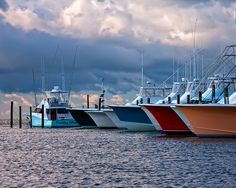 Fishing Charter Boats, Oregon Inlet fishing center, home of the largest and most modern fishing fleet on the eastern seaboard, North Carolina, NC, Outer banks, OBX, Barrier Island, Oregon Inlet, Cape Hatteras National Seashore, marina, Dare County, D Custom imprinted fish
