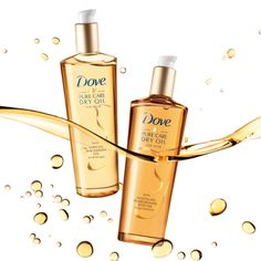 Free Sample of Dove Pure Care Dry Oil for Hair PrettyThrifty.com