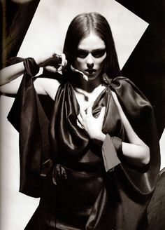 Coco Rocha by Karl Lagerfeld for Numéro #91