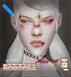 Scars M/F at Tifa Sims via Sims 4 Updates