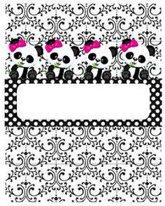 Professora Tati Simões: Kit Panda Preto, branco e rosa para imprimir grátis Panda Themed Party, Panda Birthday Party, Panda Party, Birthday Parties, Panda Icon, Baby Shower Princess, Ideas Para Fiestas, Panda Bear, Party Themes
