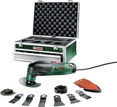 Bosch PMF 190 E Multifunction Tool with Toolbox and Accessories by Bosch >>> You can get additional details at the image link. Wow Deals, Bosch, Tool Box, Decoration, Tools, Ebay, Accessories, Air Conditioners, 2013