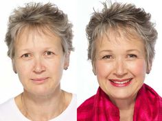women over 60 makeovers before after - Google Search