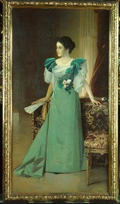 Irma von Geijer, född von Hallwyl (1873 - 1959 )