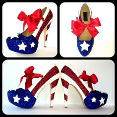 Hey, I found this really awesome Etsy listing at https://www.etsy.com/listing/100015616/miss-america-glitter-high-heels
