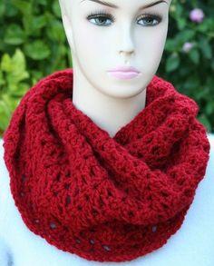 FREE Crochet Cowl Pattern with Infinity Loop   JJCrochet's Blog