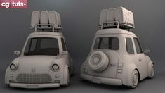 Create A Stylized Car In Maya: The Complete Workflow – Part 1