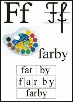 Teaching Kids, Kids Learning, Polish Alphabet, Preschool Worksheets, Pre School, Kids And Parenting, Montessori, Decoration, Classroom