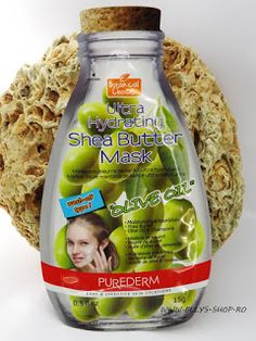 Ellys Shop: Masca de fata cu unt de shea si ulei de masline Unt, Shea Butter, Oatmeal, The Oatmeal, Rolled Oats, Overnight Oatmeal