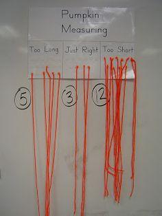 Mrs. T's First Grade Class: Pumpkin Math