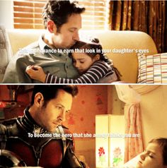 Didn't love Antman...but Scott Lang was a wonderful character and Paul Rudd did a great job as usual!