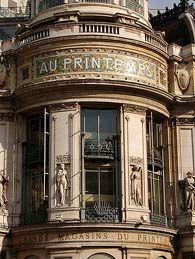 Au Printemps in Paris