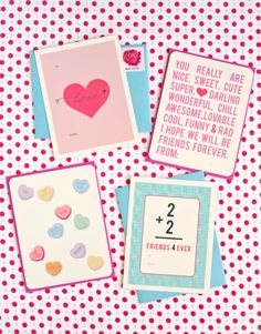 printable Valentine Cards (and evites) via babble
