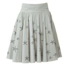 falda de estrellas patrón