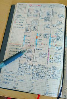 Agenda Planner, Cute Planner, Japanese Handwriting, Jibun Techo, Planner Writing, Journal Organization, Japanese Stationery, Commonplace Book, Work Tools