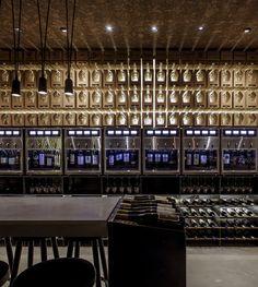 2015 Restaurant & Bar Design Award Winners Announced,Tasting Room; Israel / Studio OPA. Image Courtesy of The Restaurant & Bar Design Awards