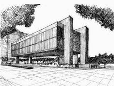 REVISTA DIGITAL APUNTES DE ARQUITECTURA: Bocetos a mano alzada, plazas y calles de la Ciudad