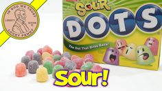 Sour DOTS Chewy Candy, The Dot That Bites Back!  #SourDotsCandy #DotBitesBack #MovieTheaterBoxCandy