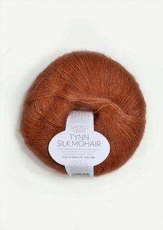 Tynn Silk Mohair 3044 Gresskar - Lykkelig as Baby Barn, Baby Knitting Patterns, Knitting Needles, Business Fashion, Pulls, Knitting Projects, Crafts For Kids, Winter Hats, Silk