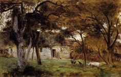 Berthe Morisot; Farm in Normandy