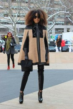 Street Style #NYFW #FW14