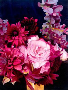 Urban Road Pty Ltd - Midnight Blooms, $120.00 (http://www.urbanroad.com.au/shop/wall-art/midnight-blooms/)