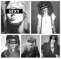 Image uploaded by Harley Queen ♔ . Find images and videos about sexy, black and white and punk on We Heart It - the app to get lost in what you love. Guns N Roses, Rock N Roll, Duff Mckagan, Music Tattoo Designs, Axl Rose, Nikki Sixx, Janis Joplin, Band Posters, Van Halen
