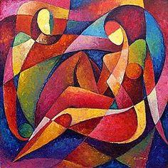 by Grant Avakyan African Paintings, Cubism Art, African Sculptures, Art Techniques, Figurative Art, Painting Inspiration, Modern Art, Pop Art, Art Projects
