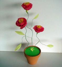 Flores de papel | Solountip.com