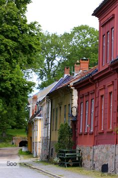 Old Town , Fredrikstad, Norway by Kari Meijers on 500px