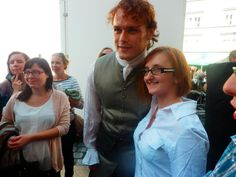 Thank you so for taking this gorgeous pic of me and Sam, @scinnlaeces I absolutely LOVE it! #OutlanderShooting