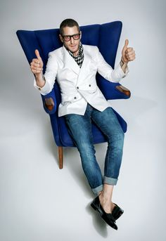 Lapo Elkann Hits the Studio for GQ Russia August Issue image Lapo Elkann GQ Russia Shoot 002