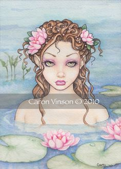 Caron Vinson watercolour