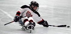 Interactive Timeline on the History of Sledge Hockey- Ice Hockey for People with Disabilities