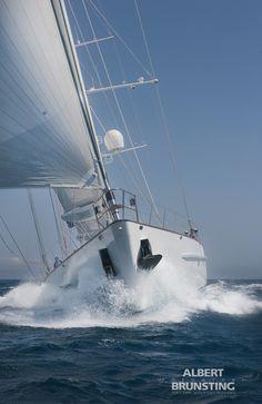 Sailing yaught Timoneer, for Vitters Shipyard. Palma de Mollorca.
