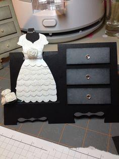 Dresser card by Kari