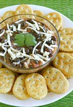 10-Minute Tex-Mex Black Bean Dip recipe—throw this easy dip together for drop in guests!
