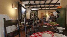 Bistro toscan - Amenajare interioara in stil rustic - Studio inSIGN Divider, Loft, Restaurant, Rustic, Studio, Bed, Furniture, Home Decor, Country Primitive