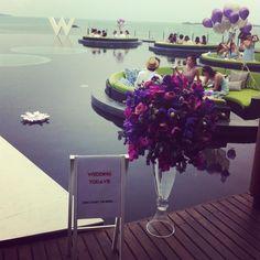 "Say ""I DO"" #luxury #wedding #wretreatkohsamui"