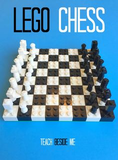 Combine two fun things and make a Lego Chess set! This will entertain Lego lovers and gamers. Learn how to create the board and the pieces from Legos.